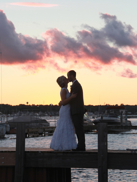 Wedding photo Sturgeon Bay